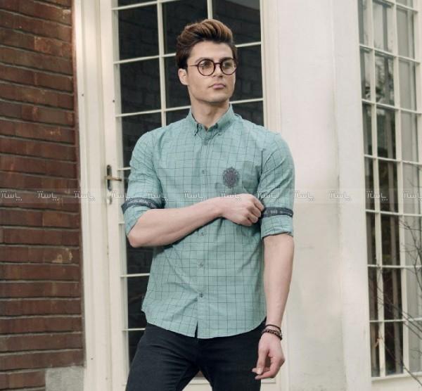 پیراهن آستین بلند مردانه-تصویر اصلی