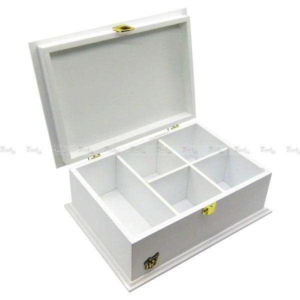 جعبه آجیل و خشکبار جعبه پذیرایی جعبه چوبی کد LB 103W-تصویر اصلی