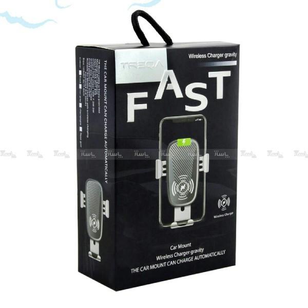 پایه نگهدارنده و شارژر بی سیم گوشی موبایل تِرِکا مدل TR-W6-تصویر اصلی