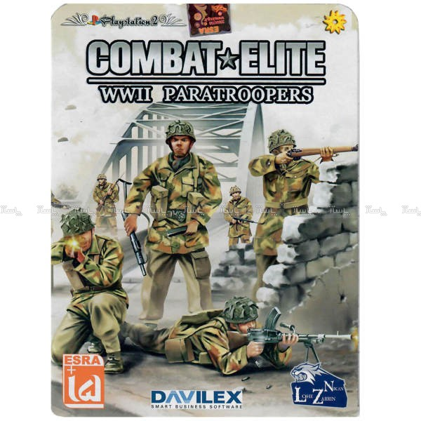 بازی Combat Elite WWII Paratroopers مخصوص PS2-تصویر اصلی