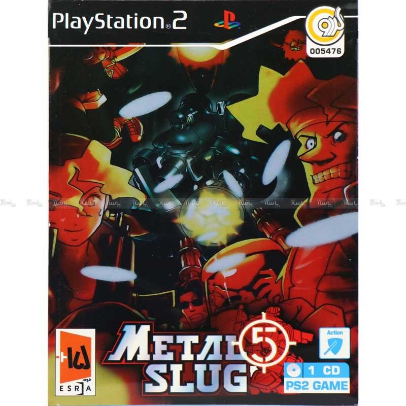 بازی METAL SLUG 5 PS2 گردو-تصویر اصلی