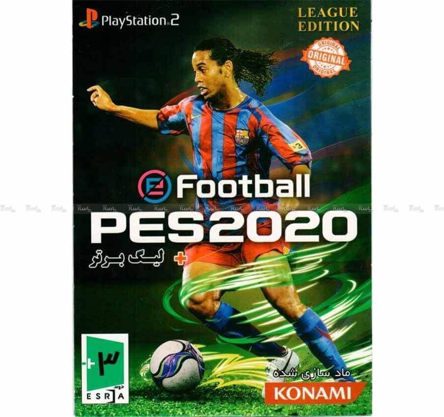 بازی PES 2020 لیگ برتر مخصوص PS2 نشر لوح زرین-تصویر اصلی