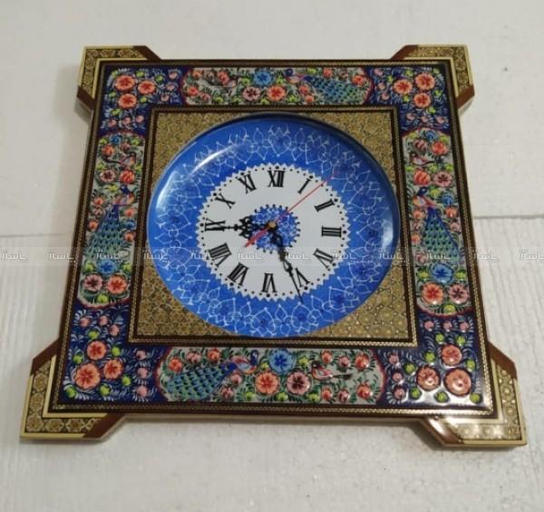 ساعت دیواری خاتم کاری-تصویر اصلی
