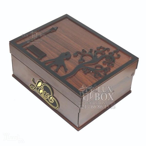جعبه کادو جعبه چوبی لوکس باکس کد LB271-تصویر اصلی