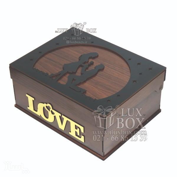 جعبه کادو جعبه چوبی لوکس باکس کد LB270-تصویر اصلی