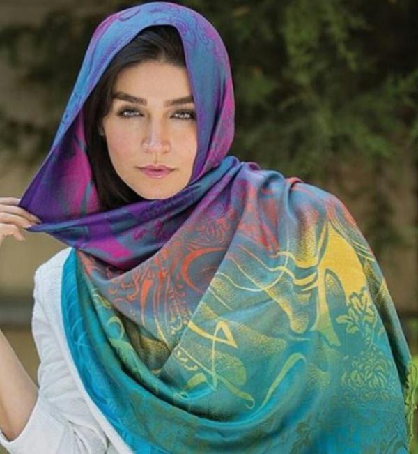 شال نخی رنگین كمان-تصویر اصلی
