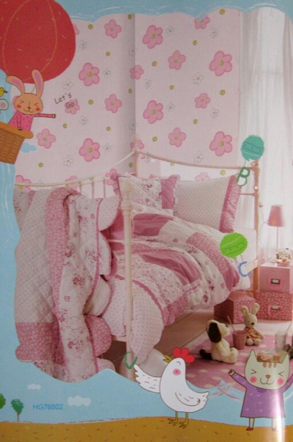 کاغذ دیواری اتاق کودک کد ۷۶۸۰۲-تصویر اصلی