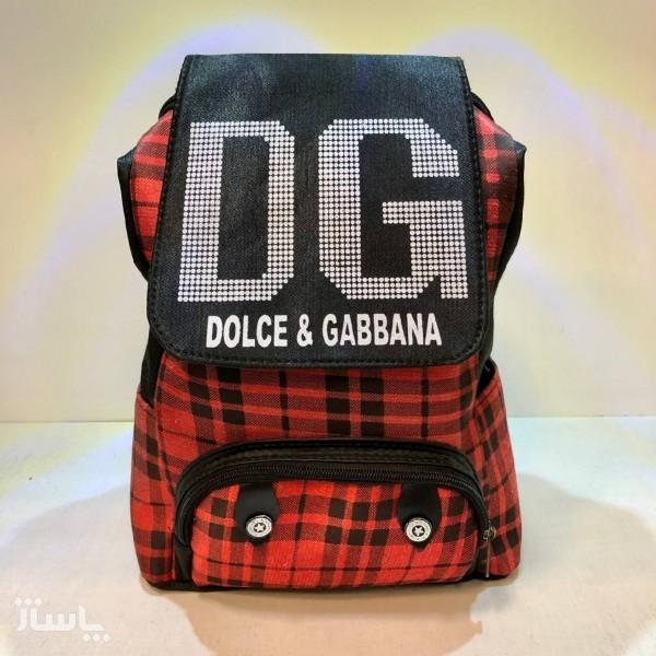 کوله پشتی DG طرح چهارخونه-تصویر اصلی