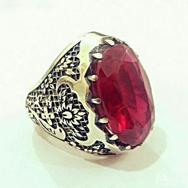 انگشتر فاخر یاقوت سرخ استثنایی و سلطنتی-تصویر اصلی