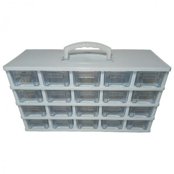جعبه کشویی قطعات سایز کوچک ۴ طبقه-تصویر اصلی