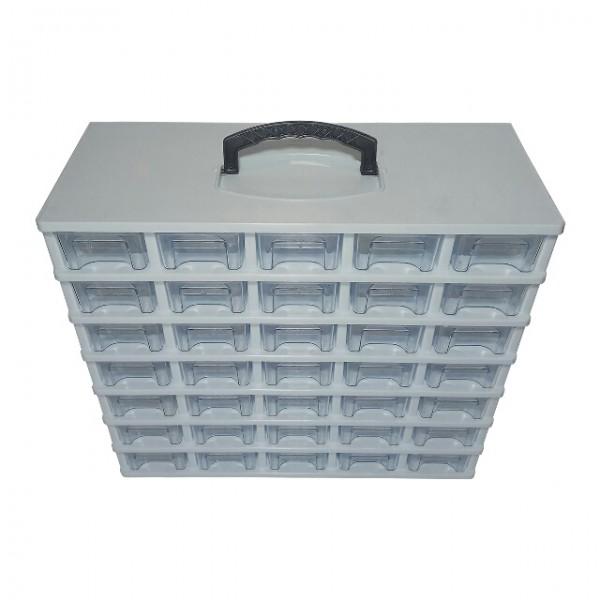 جعبه کشویی قطعات سایز کوچک ۷ طبقه-تصویر اصلی