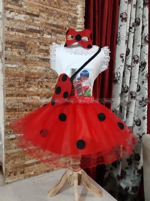 لباس دختر کفشدوزکی