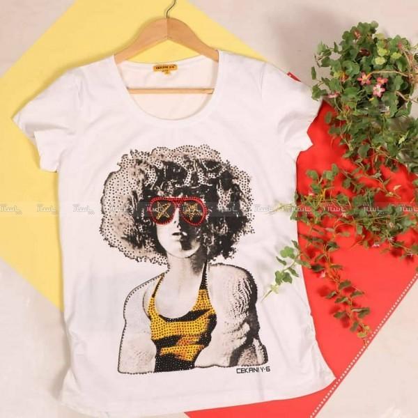تی شرت طرح دختر-تصویر اصلی