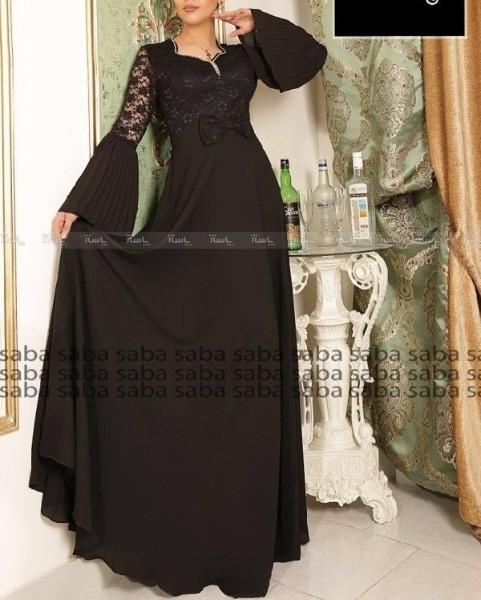 لباس مجلسی آستین پلیسه-تصویر اصلی