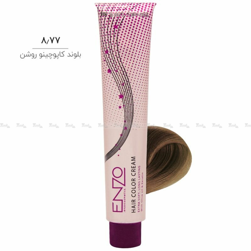 رنگ مو انزو ENZO ( سری کاپوچینو )-تصویر اصلی