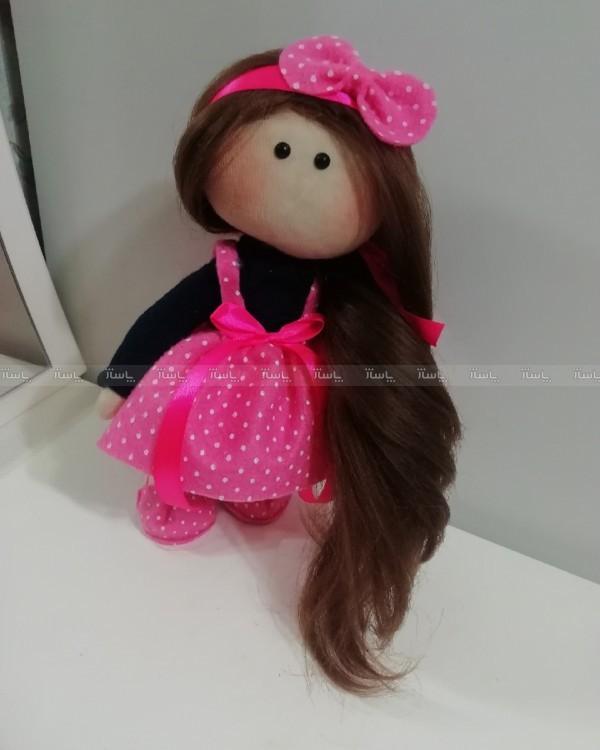 عروسک روسی لباس صورتی-تصویر اصلی