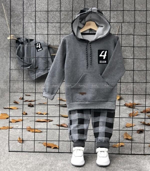 هودی شلوار چهارخونه-تصویر اصلی