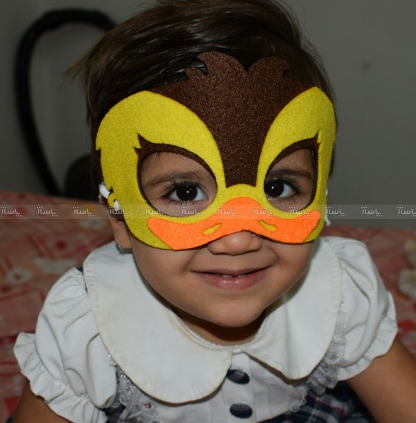 صورتک اردک و جوجه طلایی-تصویر اصلی