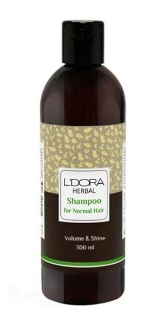 شامپو گیاهی مناسب موهای خشک و آسیب دیده لدروا هربال 300 میلیلیتر-تصویر اصلی