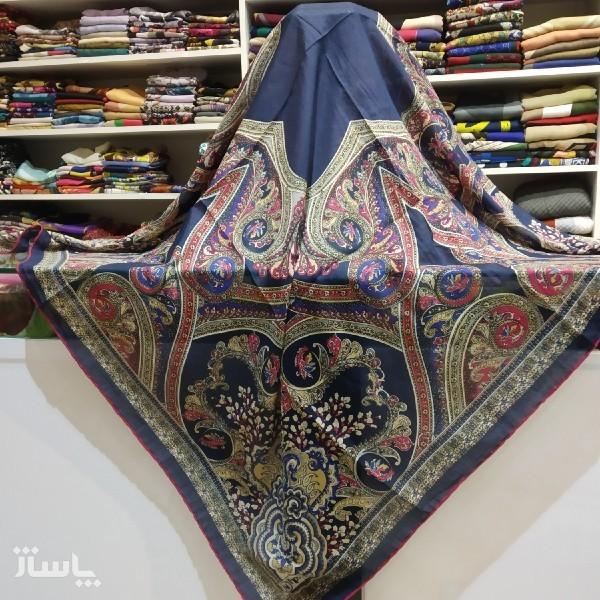 روسری نخی دست دوز-تصویر اصلی