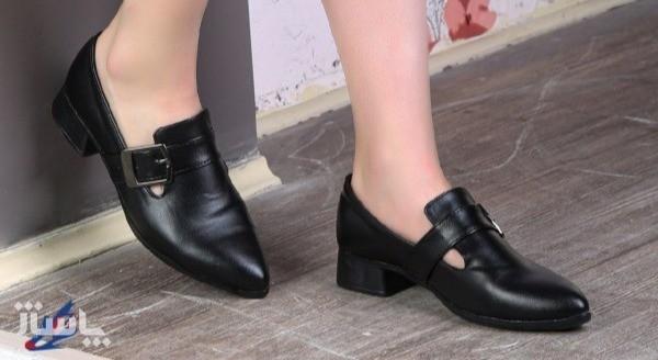 کفش کلاسیک چرم دولایه زیره پیو شیکBa-تصویر اصلی