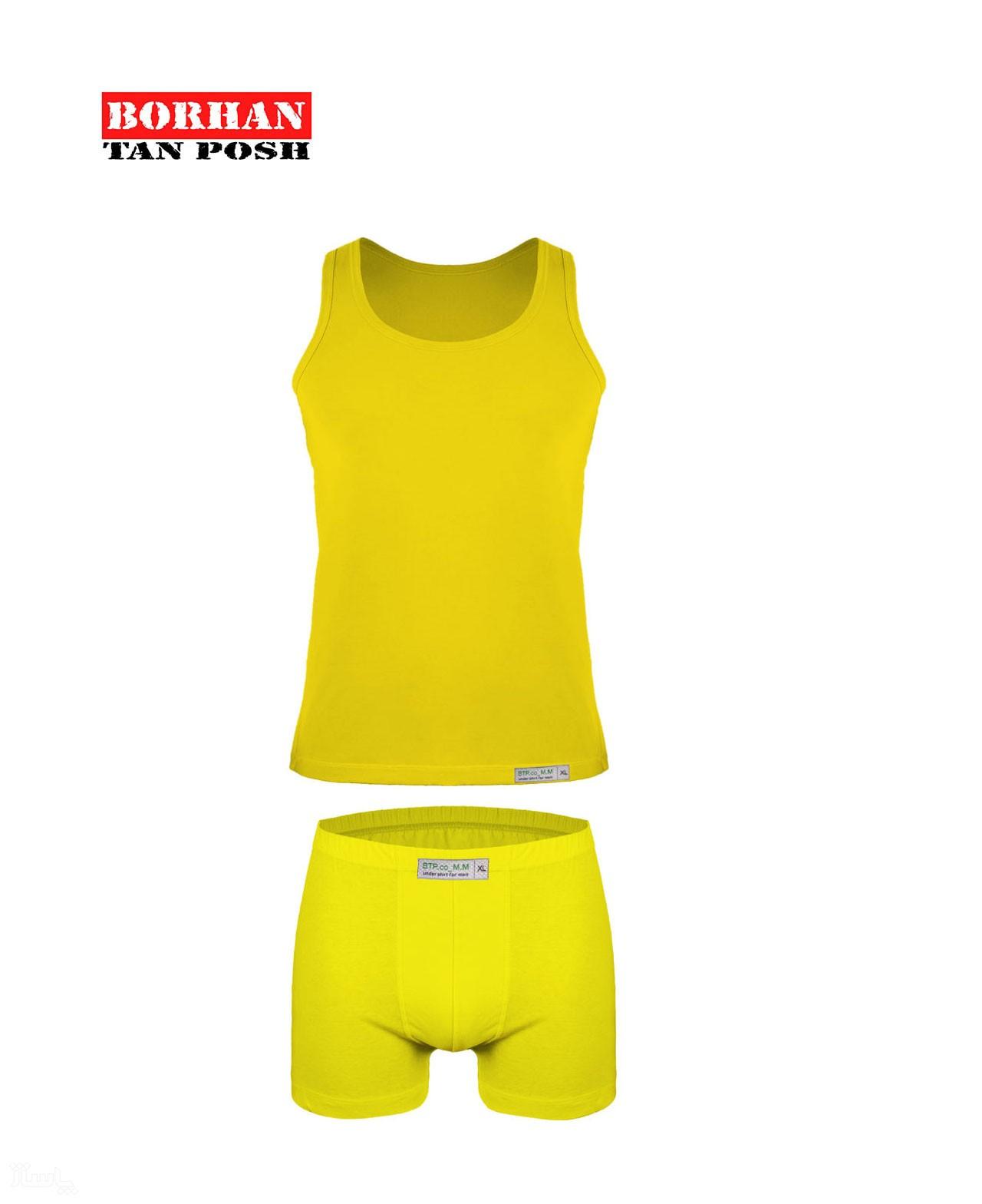 ست شورت و زیرپوش مردانه رنگی بی تی پی کد Z-004-تصویر اصلی
