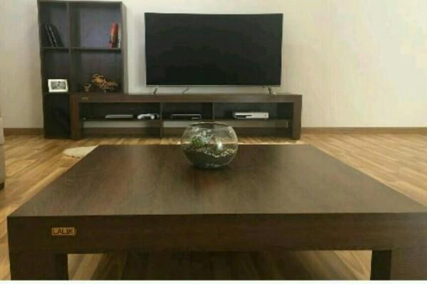 میز تلویزیون شلف جانبی و جلومبلی ZIBASET لالیک-تصویر اصلی