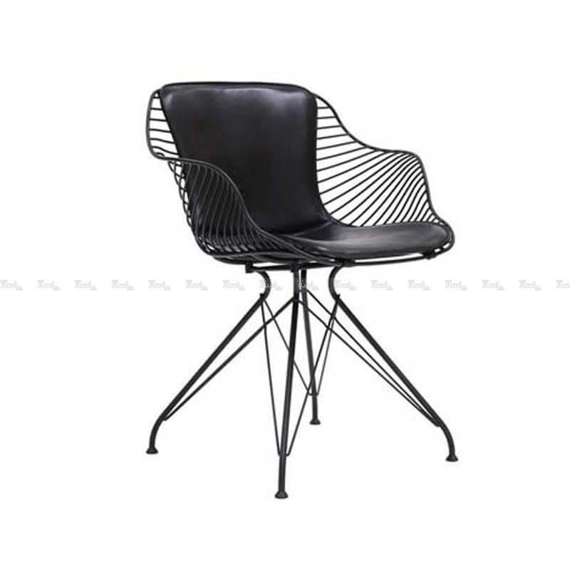 صندلی رستورانی پایه ثابت کوره ای مدل فلورنس استیل هامون-تصویر اصلی