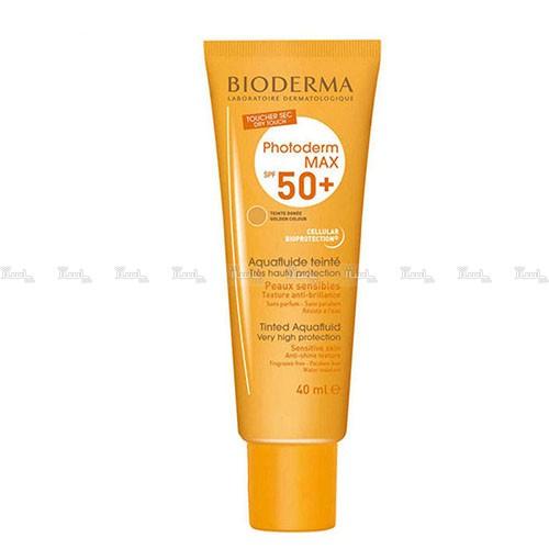 کرم ضد آفتاب رنگی بیودرما مدل Golden colour حجم 40 میلی لیتر-تصویر اصلی