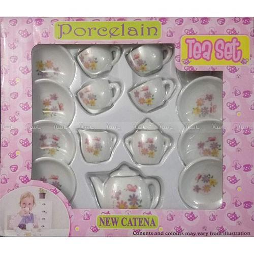 ست اسباب بازی چای خوری کودک مدل 15-flo-تصویر اصلی