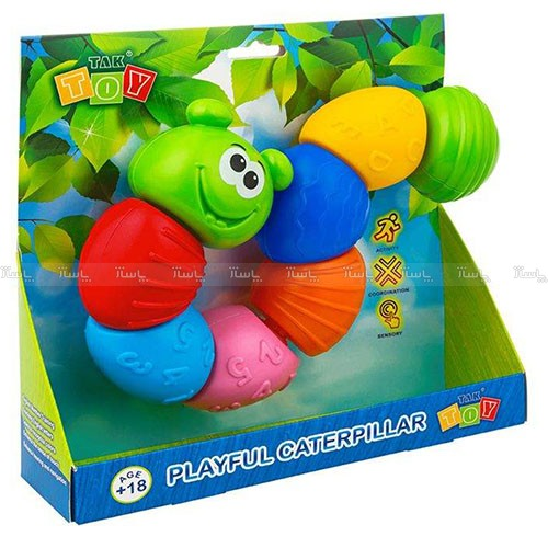 بازی آموزشی تک توی مدل کرم ابریشم بازی گوش-تصویر اصلی