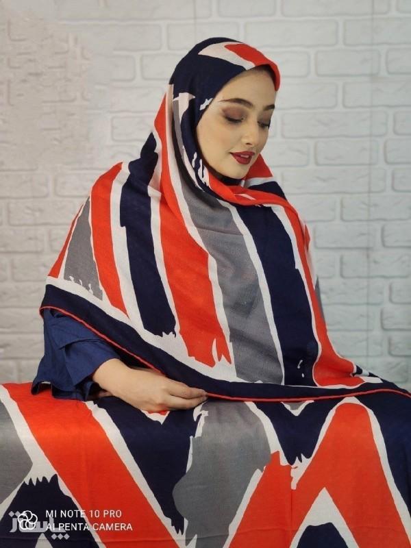 روسری تابستانه نخی-تصویر اصلی