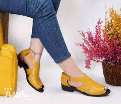 کفش زنانه چرم-تصویر اصلی