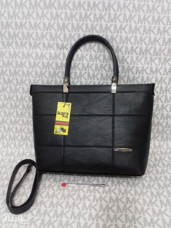 کیف زنانه بزرگ شسته لمینت شده ضخیم-تصویر اصلی