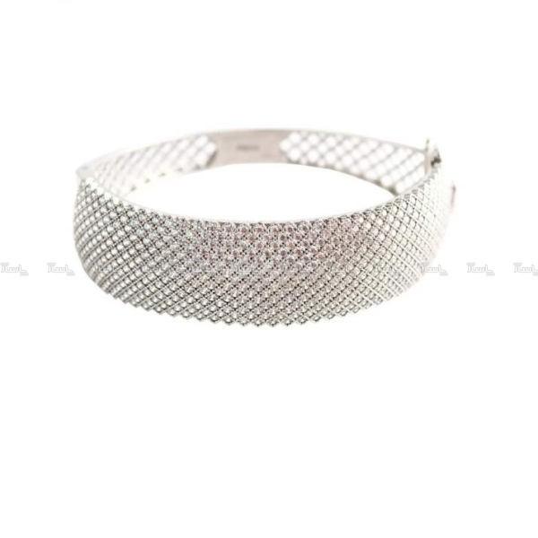 دستبند نقره مدل پرنس کد AL333-تصویر اصلی