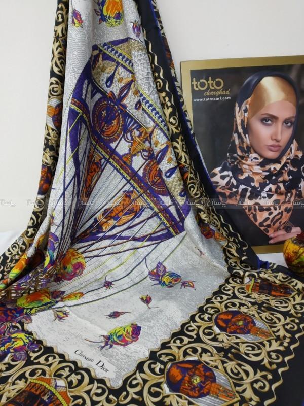 روسری ابریشم طویل-تصویر اصلی