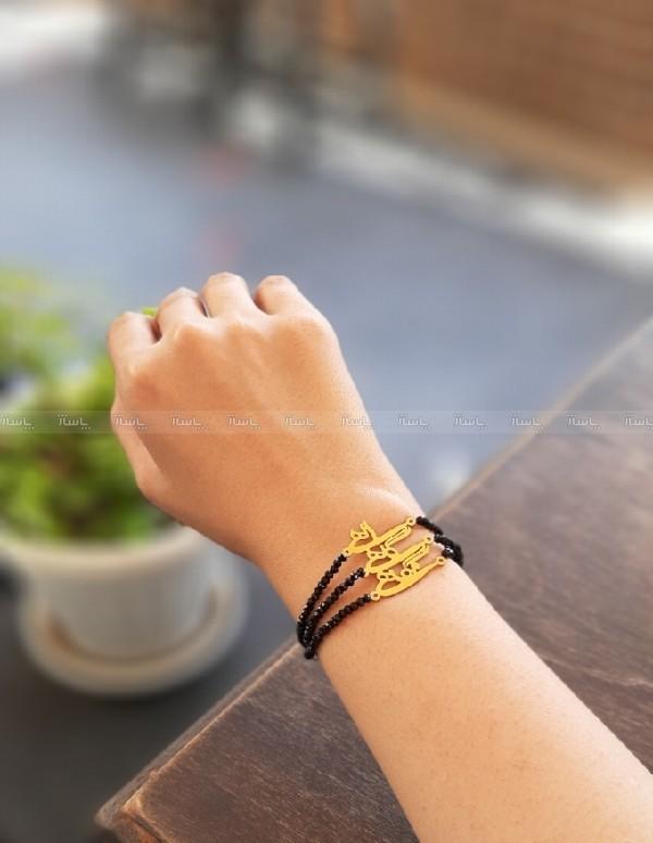 دستبند پلاک استیل-تصویر اصلی