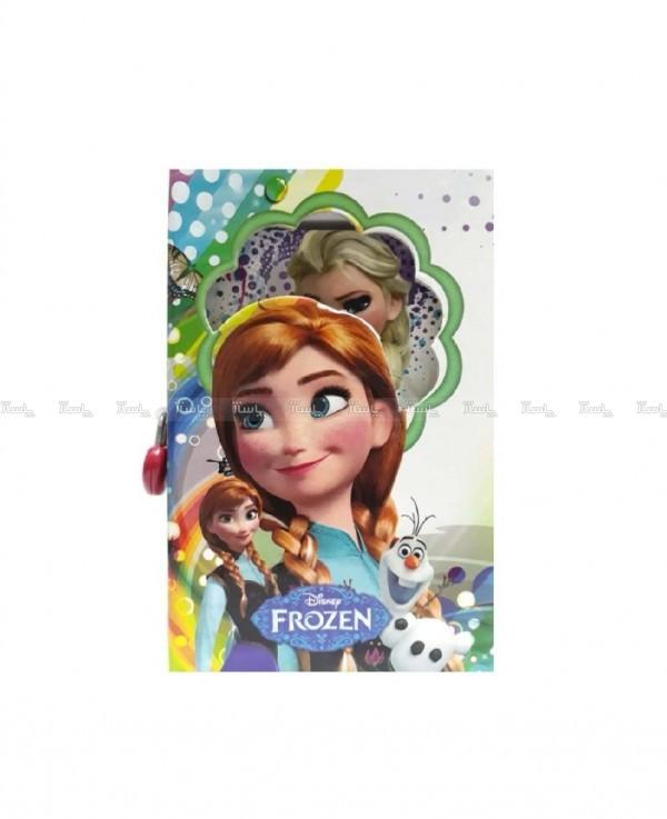 دفتر خاطرات قفل دار مدل Frozen-تصویر اصلی
