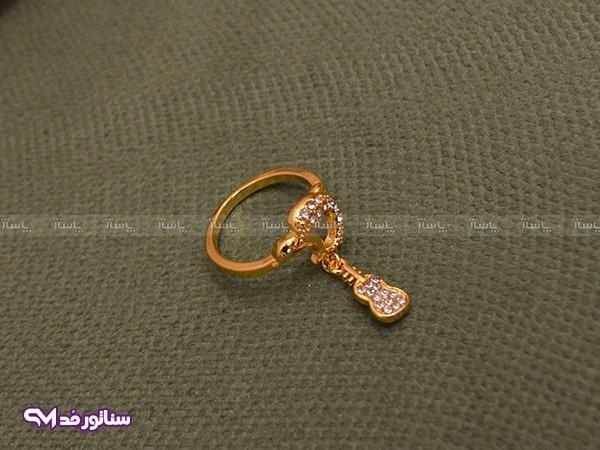 بند انگشتی طلایی سناتورمد AZ4004-تصویر اصلی
