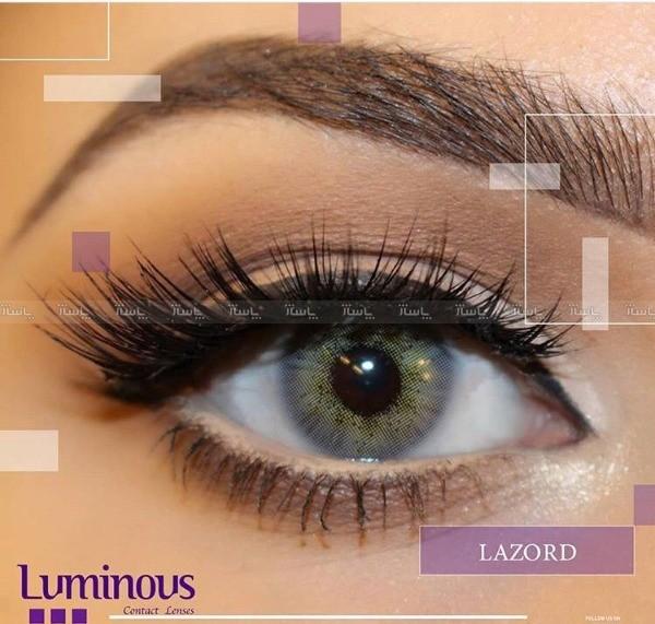 لنز رنگی سالیانه لومینوس رنگ Lazord-تصویر اصلی