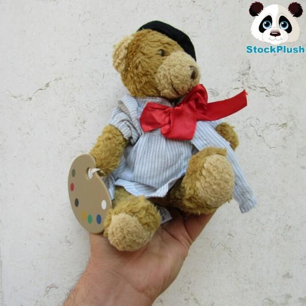 عروسک پلاشی استوک خرس نقاش-تصویر اصلی