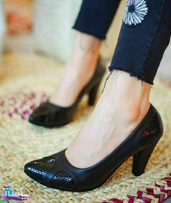 کفش مجلسی چرم صنعتی شیک Zi-تصویر اصلی