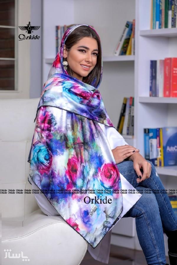 روسری نخ ابریشم گارزا-تصویر اصلی