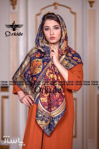 روسری ابریشم-تصویر اصلی
