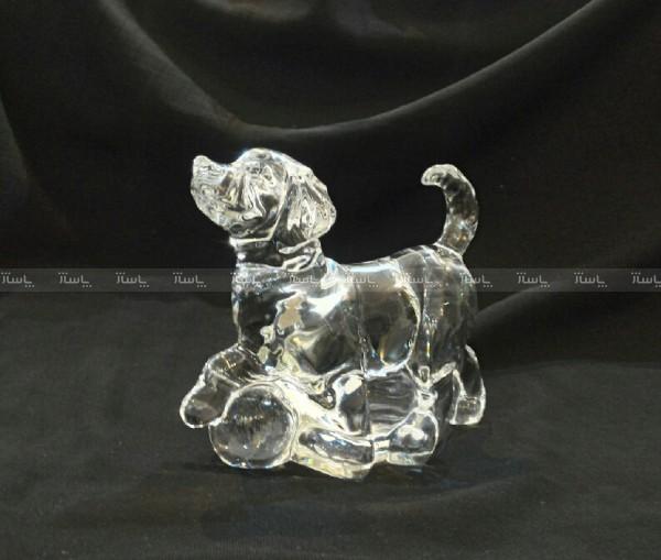 مجسمه کریستالی طرح سگ-تصویر اصلی