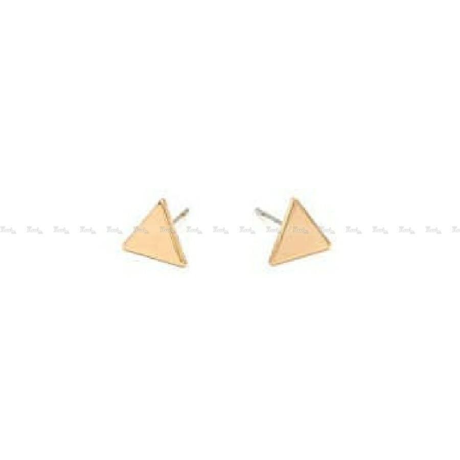 گوشواره مثلث ( ۹۵۰ سوت ) طلا ۱۸ عیار-تصویر اصلی