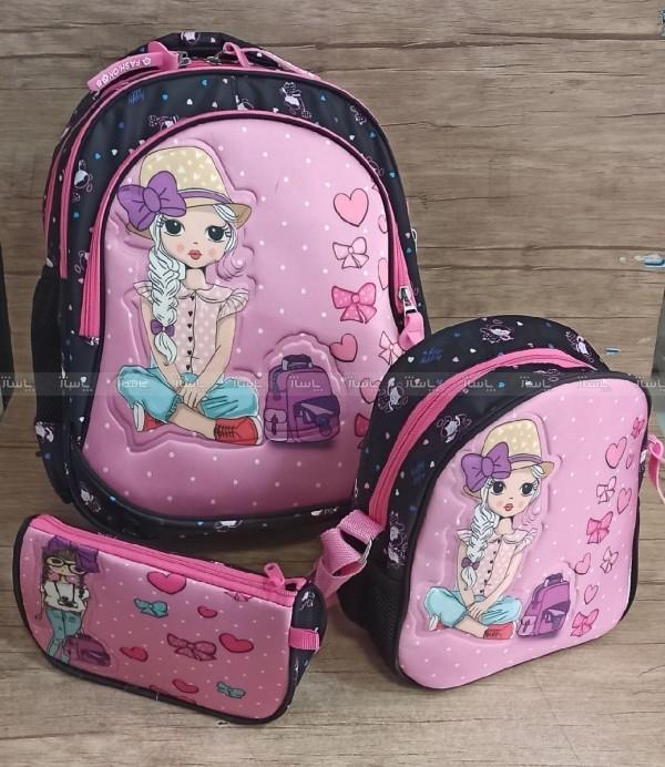 کیف کوله مدرسه ۳ تیکه-تصویر اصلی