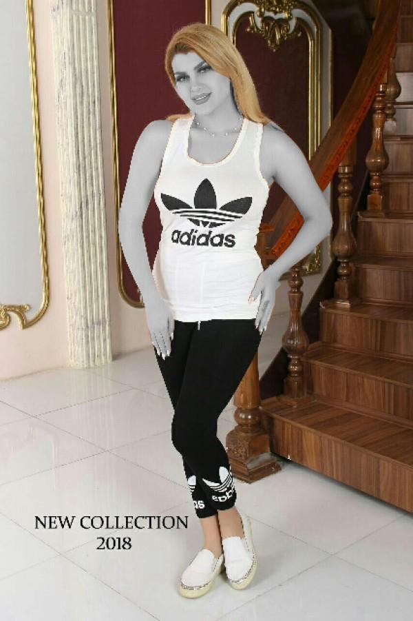 تاپ شلوارک Adidas-تصویر اصلی