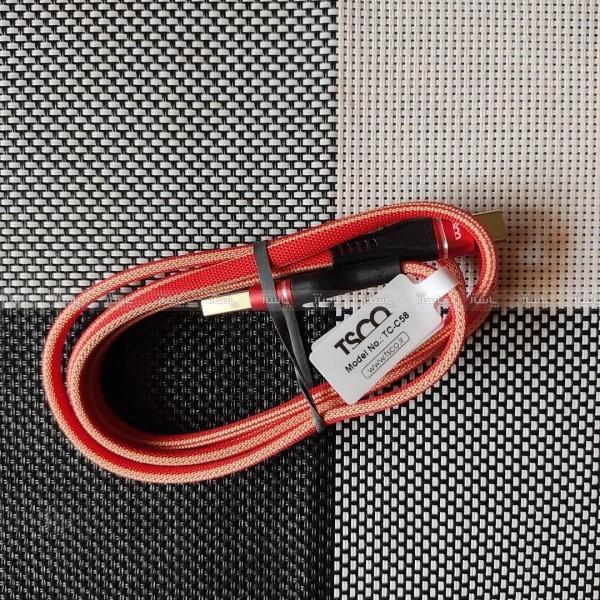 کابل Type-C برند تسکومدل TC C58-تصویر اصلی