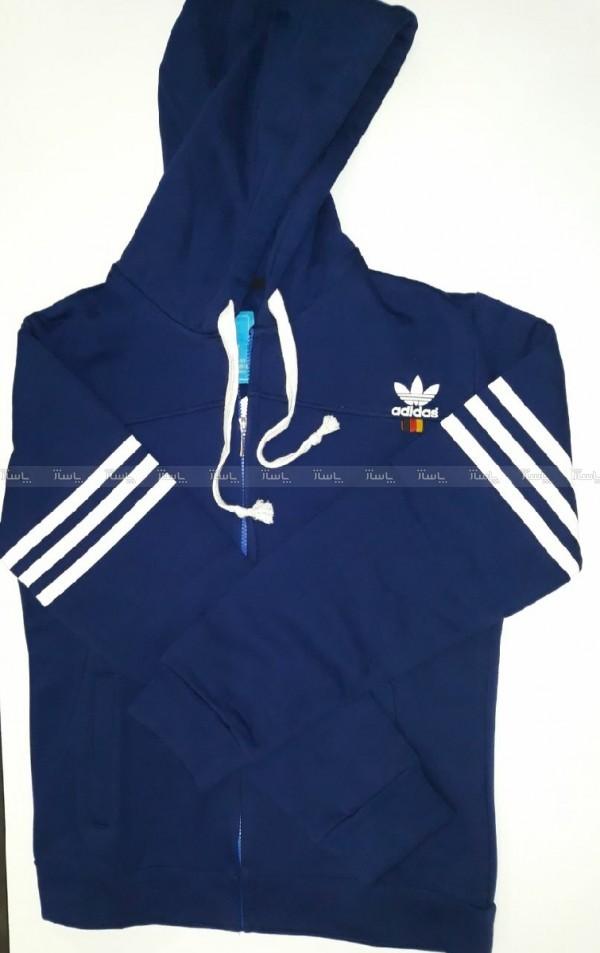 هودی زیپدار Adidas-تصویر اصلی